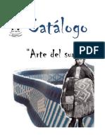 Catalogo ARTE DEL SUR
