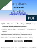Direito Constitucional - Aulão_Atépassar_MPU
