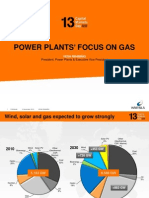 Wartsila power plant focus on Gas