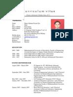 CV Foto English