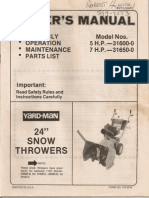 Snowblower Manual0001