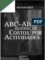 ABC - ABM Gestion de Costos Por Actividades - E. Bendersky