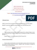459 Anexos Aulas 38820 2013-11-06 PROCURADOR DO ESTADO DA BAHIA Processo Civil 110613 PROC BA AULA 04 Fazenda Publica Em Juizo (1)