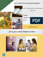 Asamblea de Circuito - La Palabra de Dios es útil para enseñar - Cuaderno de notas v2