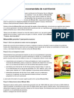 Prodieta.ro-mihaela Bilic Dieta Recomandata de Nutritionist