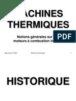 Machines+Thermiques+II+ +Generalites