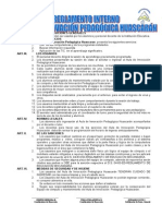 Model de Reglamento Interno