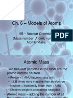 atomic number mass number atomic mass