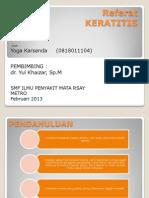Referat Keratitis