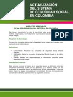 Aspectos de La Seguridad Social en Colombia