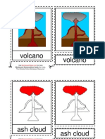 Montessori Materials Parts Of A Volcano Age 3 to 6