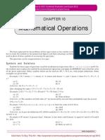 SSC Guidenc Program Reasoning Mathematic Operationm