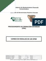 11 CMM_POE Cambio de Rodillos de Los HPGR