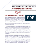 Runes Are an Ancient Germanic Alphabet