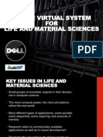 Single Virtual Systems for Life and Material Sciences