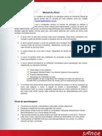 SIENGE Manual Do Aluno