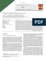 A Model for Wet Silicon Carbide Tribo-corrosion