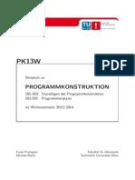 Programmkonstruktion