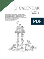 Astro Calendar 2013