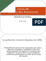 Cours de GRH Gestion Ressources Humaines