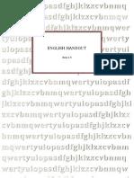 English Handout Basic