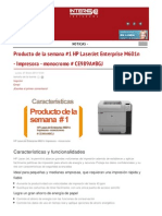 Hp Laserjet Enterprise m601n Impresora Monocromo Ce989a Intersoft de Latinoamerica