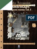 Rpg d20 D&D 3E 3.5E Battlemaps Vol 1 Dungeon Rooms