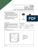 Amplificador Operacional Jfet-LF153,LF253,LF353
