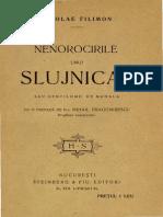 Nicolae_Filimon_-_Nenorocirile_unui_slujnicar_sau_Gentilomii_de_mahala_-_Nuvelă