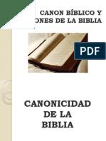 Canon y versiones de la Biblia.ppt