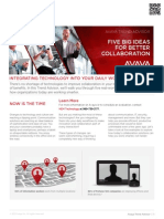 Five Big Ideas for Better Collaboration Avaya NEM Technology