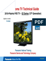 Panasonic Tc-p42s2 s2-Series 13th-Generation 2010 Tech-guide Training (4)