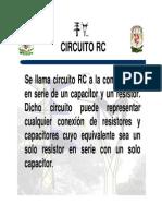 Teoria de circuitos RC