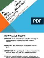 4DNY - Goal Theory