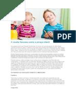 A receita francesa contra a pirraça infantil