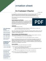UKBA Customer Charter June 2009