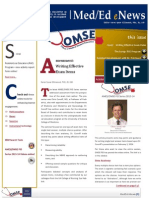 UA OMSE Med/Ed eNews v2 No. 06 (JAN 2014)