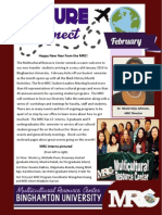 MRC February 2014 Newsletter