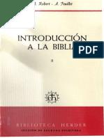 André Robert-André Feuillet-Introducción a la Biblia (NT)