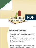 Audit Siklus Pembiayaan