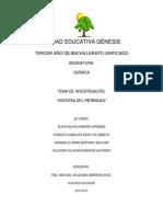 Proyecto Petroleo Grupo #1