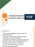 Radioanatomy of Lungs and Heart