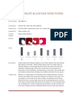 1826 restaurant  lounge full wine guide