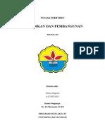 Pendidikan Dan Pembangunan