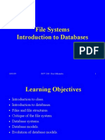 Chapter 1 Introduction to Databases