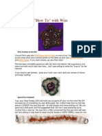 Crafts - Beading - Bead Crochet With Wire