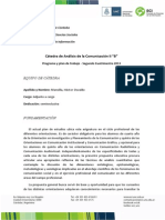 Anaisis de La Comunicacion II - Catedra b 0