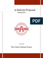 Spring 2014 Election Reform Proposal