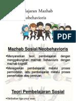 Teori Pembelajaran Mazhab Sosial