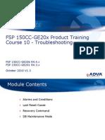 Adva - Training - FSP 150CC-GE20x R4.x Course - 10 - Troubleshooting